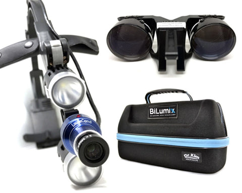 HD Camera Package  (Headlamp, HD Cam, 2.5x loupe and Travel Bag)