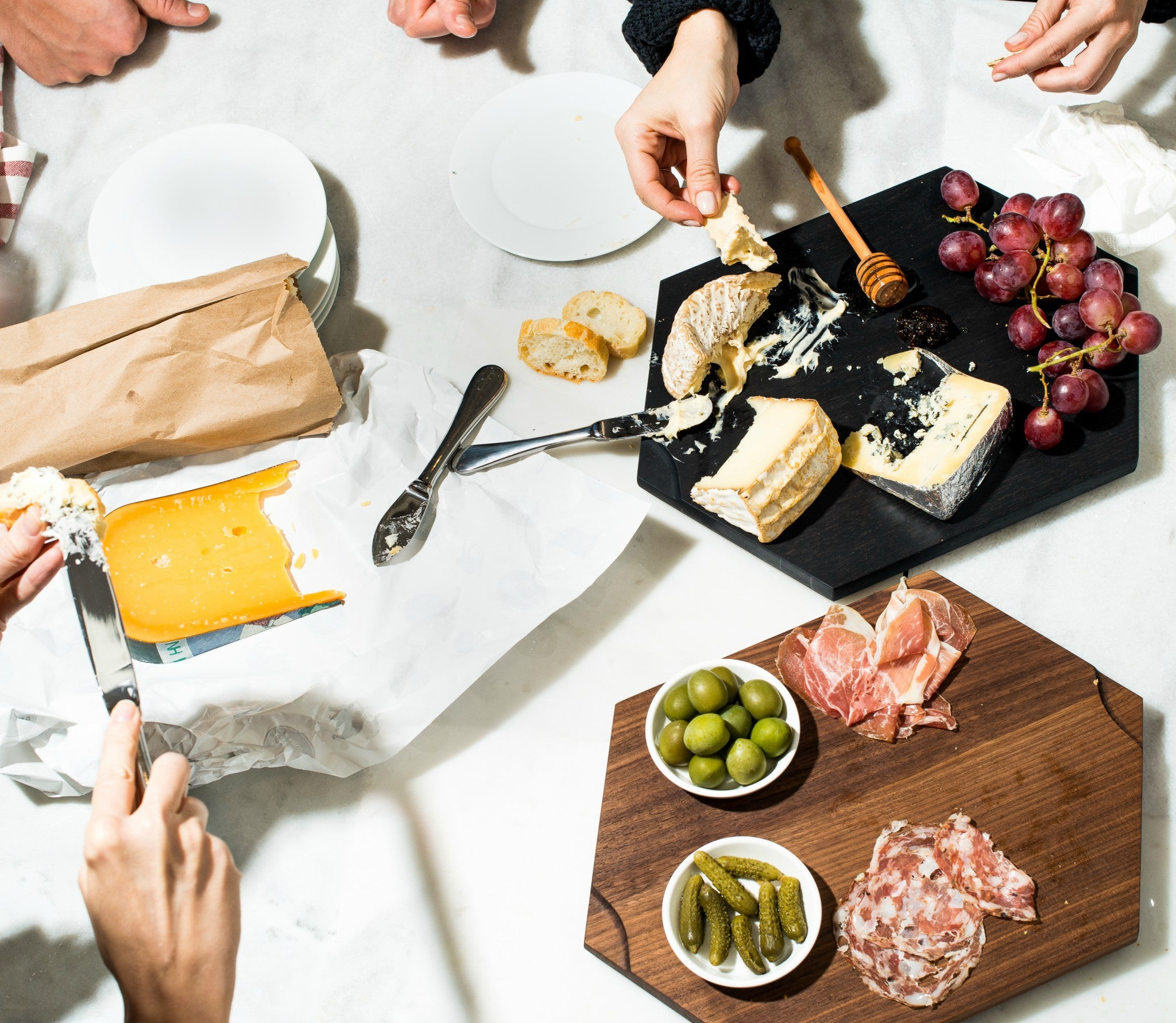 Time to rethink your cheese board.