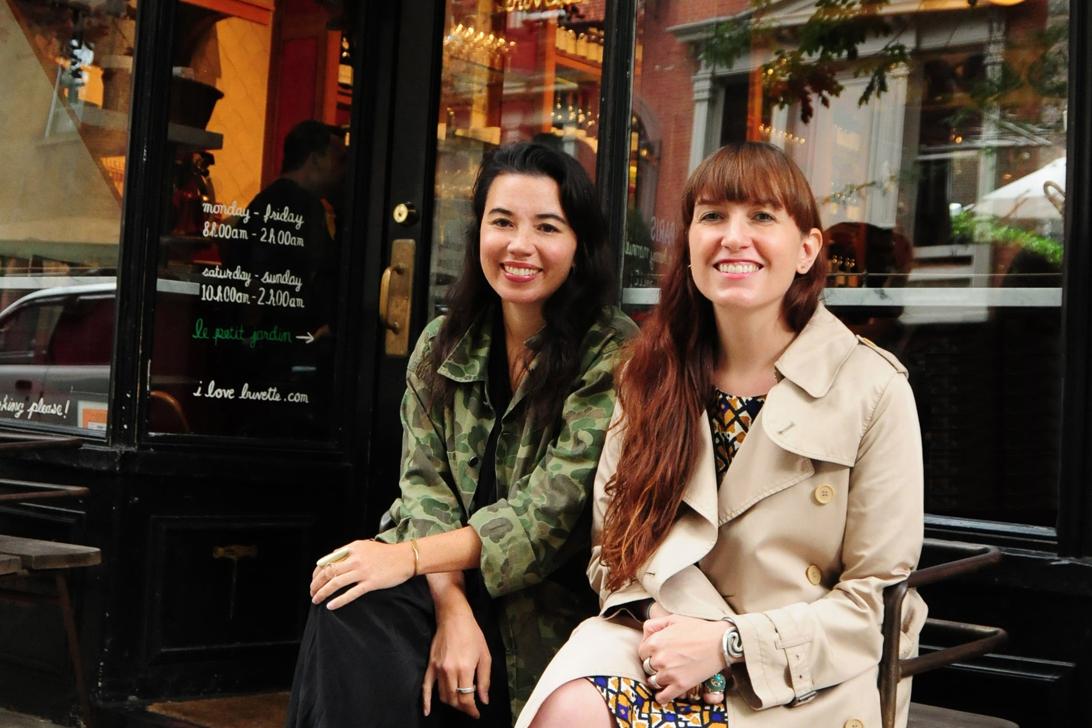 Michele Outland and Fiorella Valdesolo, co-founders, Gather Journal