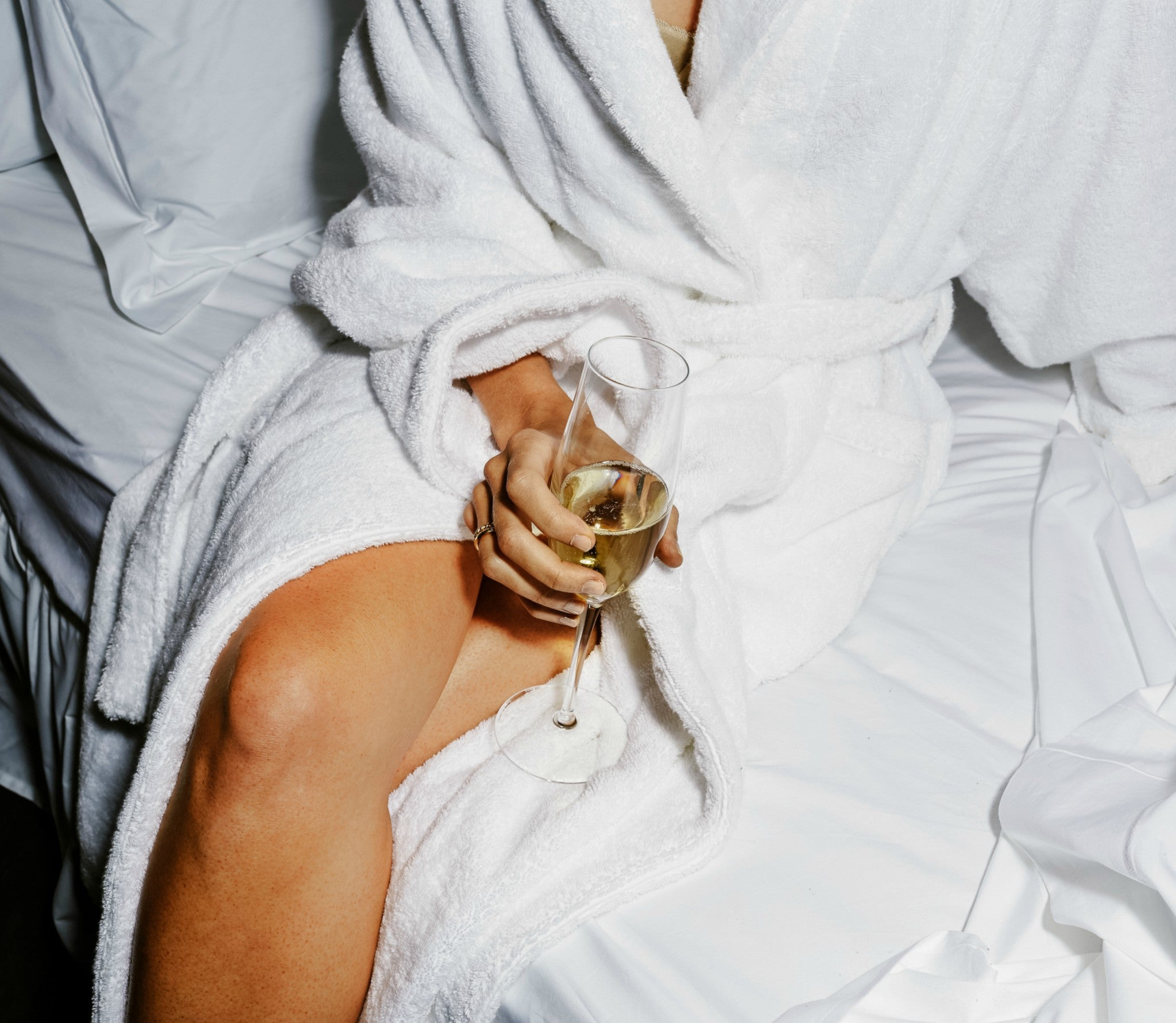 The all-mighty bathrobe — your holiday uniform.