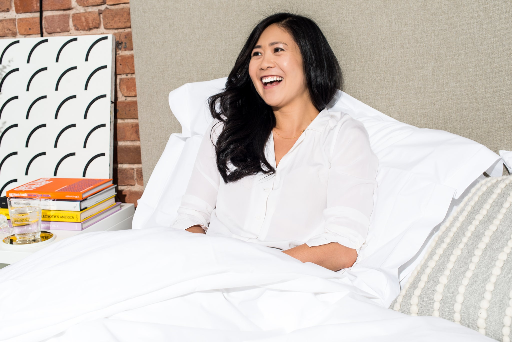 Every bedroom needs comfort and personality according to Tze.