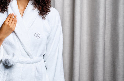Corporate Gifting Monogrammed Bathrobe