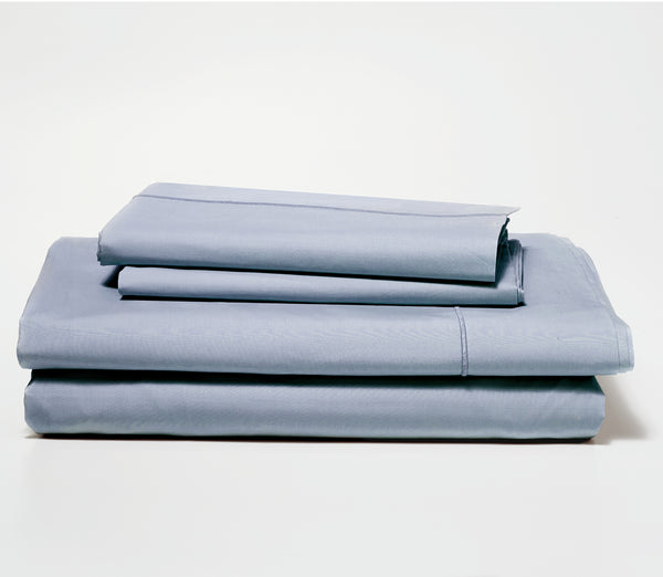 best sheets set slate blue