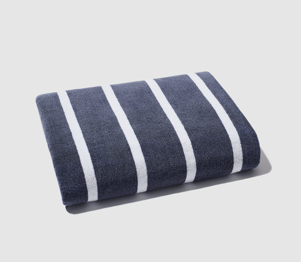 Beach Towel - Shady Stripe