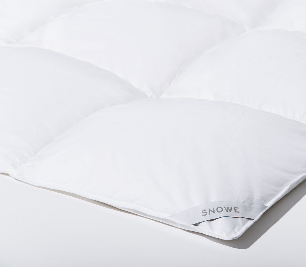 alley products white duvet down goose peacock