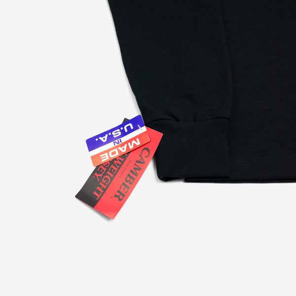 CC x HIMAA Camber® Long Sleeve Shirt - Black