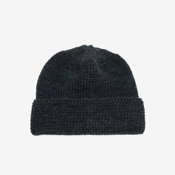 Wool Watch Cap - Charcoal