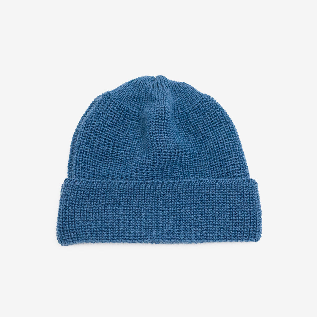 Wool Watch Cap - Blue
