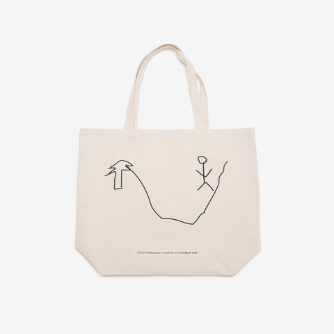 [corduroi club] x Himaa Tote Bag - Natural