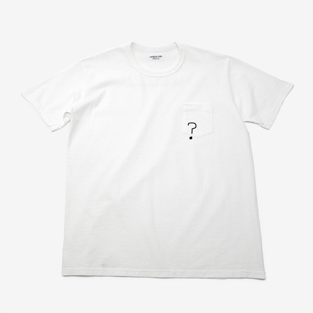 "[corduroi club] x Himaa ""?"" Pocket Tee"