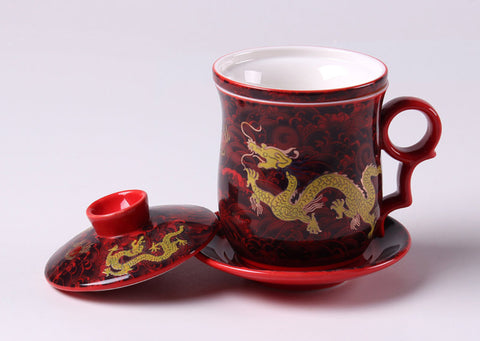 Tasse infuseur « Dragon »