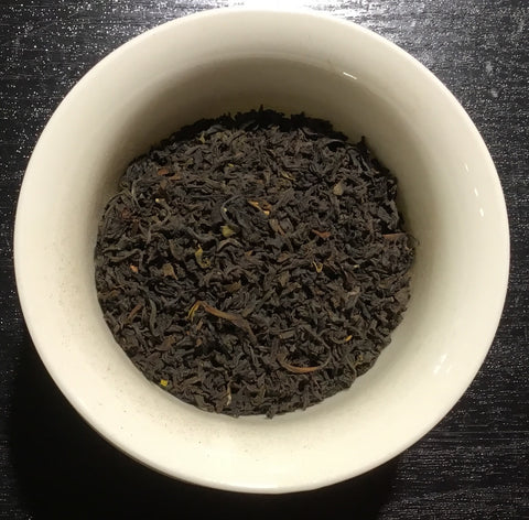 St Coombs black tea - thé noir