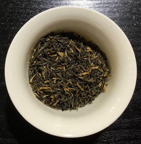Golden Yunnan black tea - thé noir