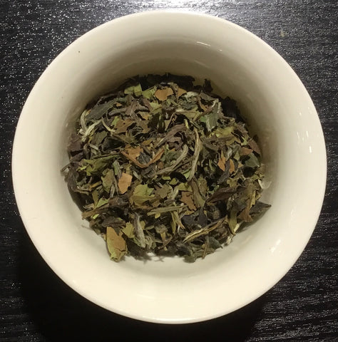 Pai mu tan organic white tea