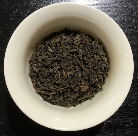Golden Pu'Erh black tea - thé noir