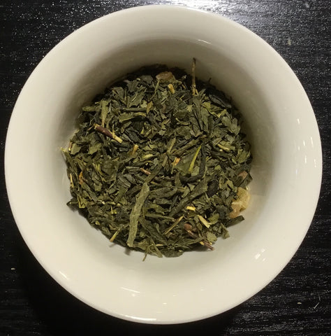 Strawberry, Papaya organic green tea - Thé vert Fraise, Papaye bio