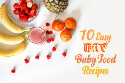 10 Easy DIY Baby Food Recipes