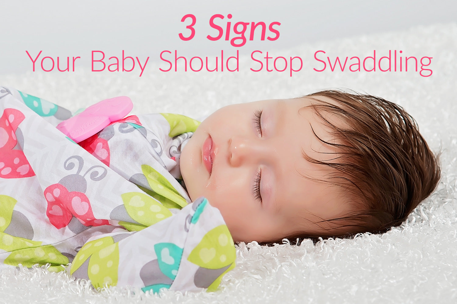 3 Signs that Baby is Ready for Swaddle Transition