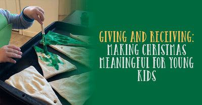 Giving and receiving: Making Christmas meaningful for young kids