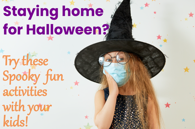 Staying home for Halloween? Try these spooky-fun activities with the kids