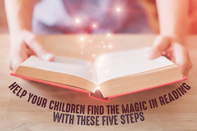 Five ways to make reading more exciting for your kids