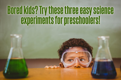 Low Prep Science Projects for Kids