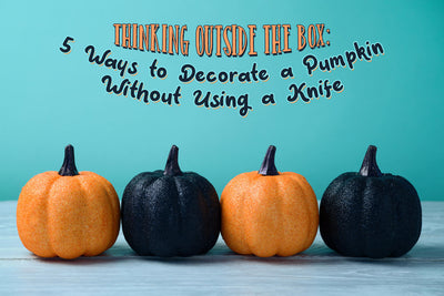Thinking Outside the Box: 5 Ways to Decorate a Pumpkin Without Using a Knife