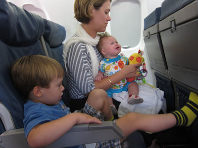 5 Ways to Calm a Fussy Baby on an Airplane