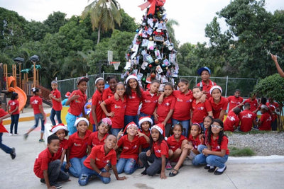Sleeping Baby Partners With the Pedro Martinez Foundation to Give At-risk Children a Merrier Christmas!