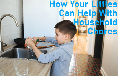 Make Cleaning Up A Family Affair: How to Involve Your Littles in Household Chores