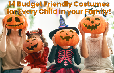 14 Budget-Friendly Halloween Costumes for Every Child in Your Family