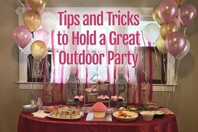 Tips for a final outdoor summer party