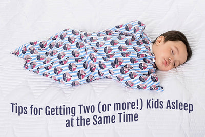Tips for Getting 2 (or more!) Kids to Sleep at the Same Time