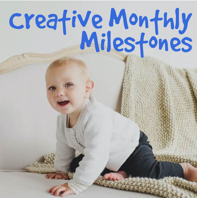 7 Creative Ideas for Monthly Milestone Pictures