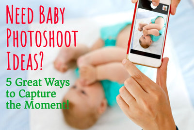 Adorable Baby Sleepsuit Photoshoot Ideas? 5 Great Ways to Capture the Moment!
