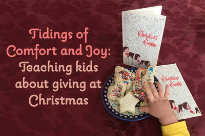 Teaching kids about giving at Christmas