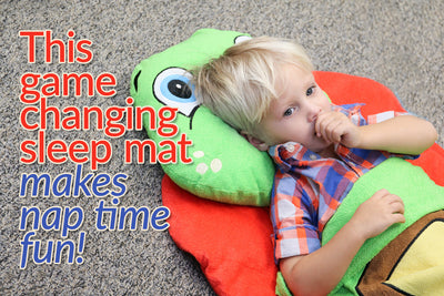 This game changing sleep mat makes nap time fun!
