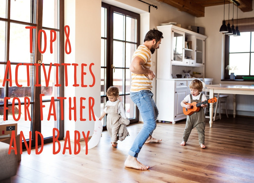 Activities for baby and father