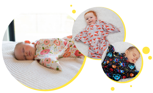 How Zipadee Zip Works For The Swaddle Transition Sleeping Baby