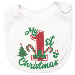 My First Christmas Bib