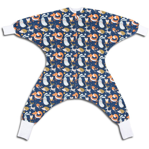 Animal pattern toddlers pajamas