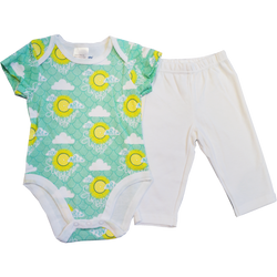 """You Are My Sunshine"" 2 Piece Set"