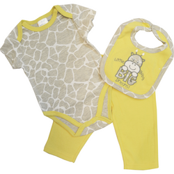 """Big Dreams"" Giraffe 3 Piece Set"