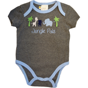 Cute babies in Jungle Pals 3 piece set