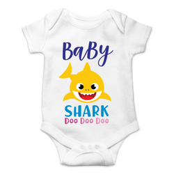 Baby Shark Bodysuit - Baby Boy