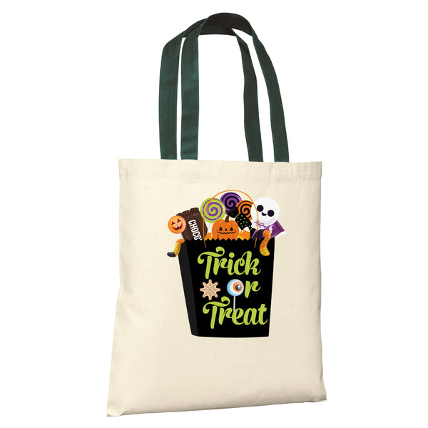 HALLOWEEN Candy PERSONALIZED Treat Bags Tote - Candy Box
