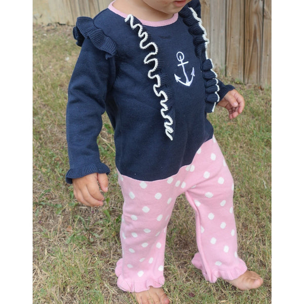 lovely nautical zippy onez for girls