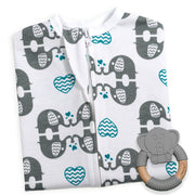 eLOVEphant Zipadee-Zip + Elephant Teether