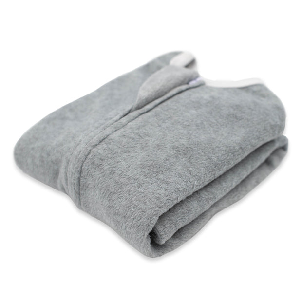Heather Grey Zipadee-Zip - Fleece