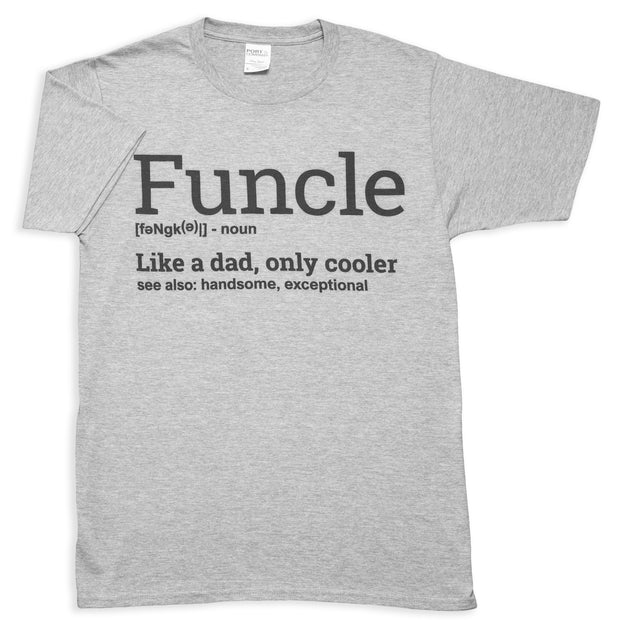 Funcle Meaning Mens T-Shirt